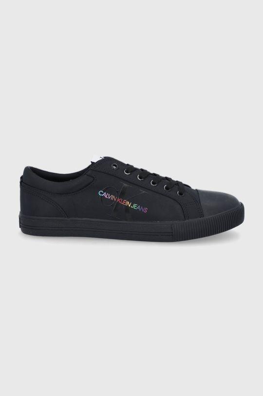 czarny Calvin Klein Jeans - Tenisówki Męski