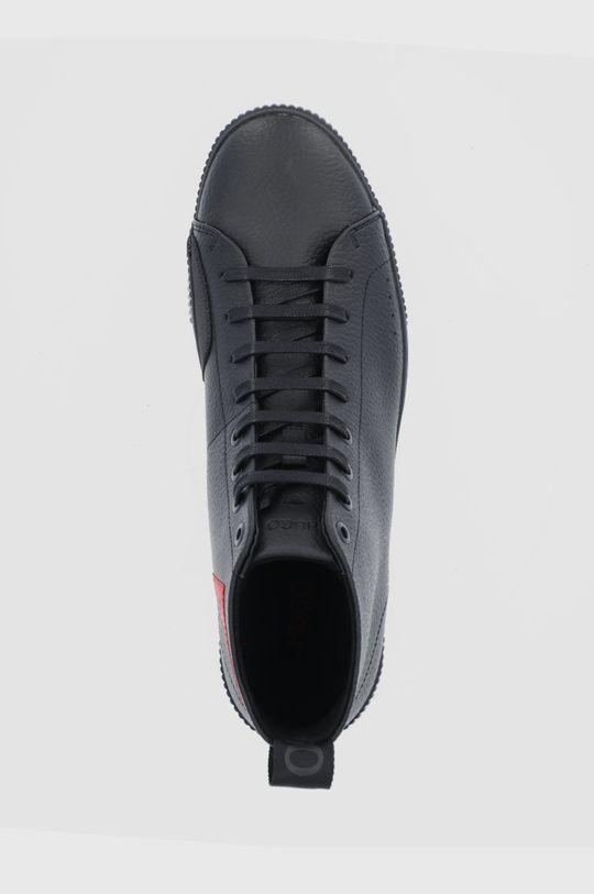 czarny Hugo - Buty skórzane