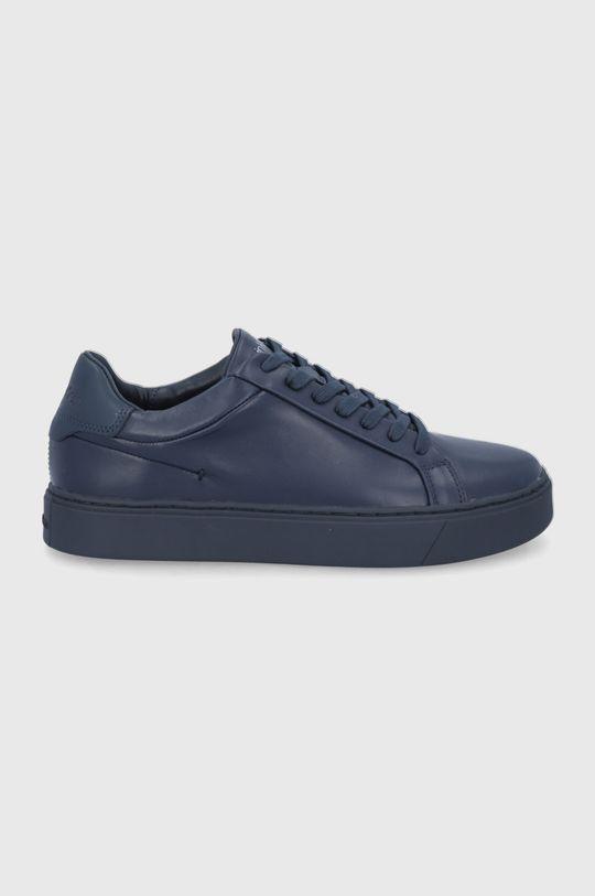 σκούρο μπλε Calvin Klein - Δερμάτινα παπούτσια Ανδρικά