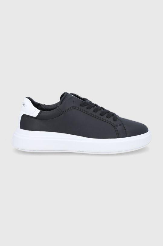μαύρο Calvin Klein - Δερμάτινα παπούτσια Ανδρικά