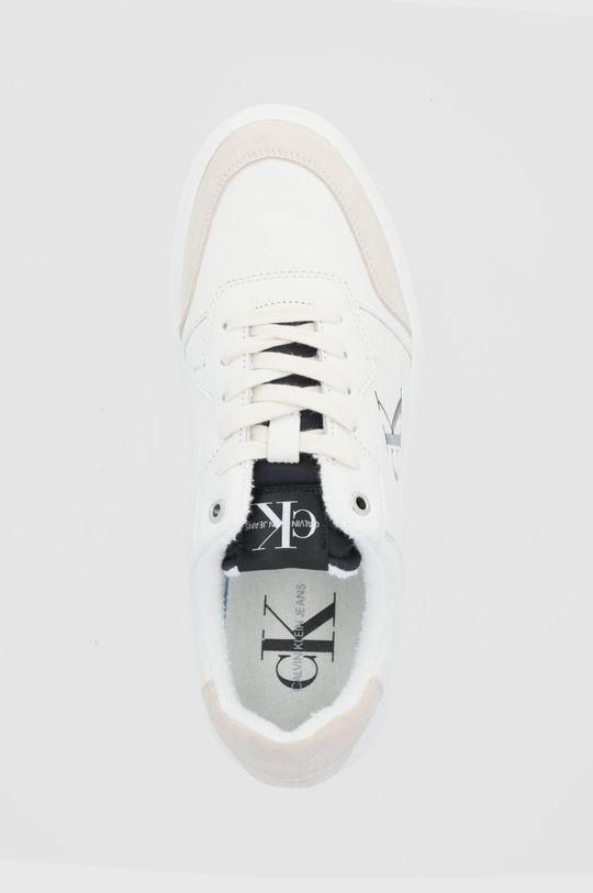 kremowy Calvin Klein Jeans - Buty skórzane