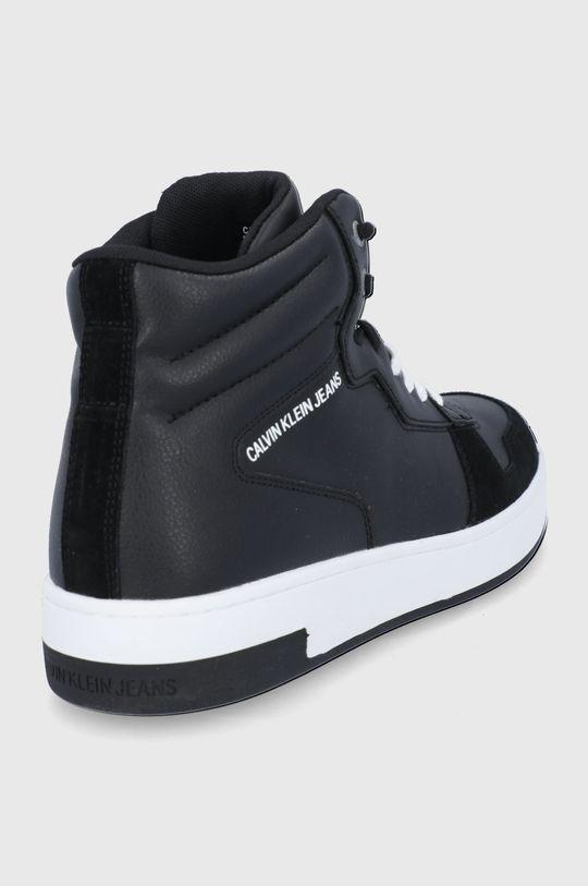 Calvin Klein Jeans - Buty skórzane Cholewka: Materiał syntetyczny, Skóra naturalna, Wnętrze: Materiał tekstylny, Podeszwa: Materiał syntetyczny