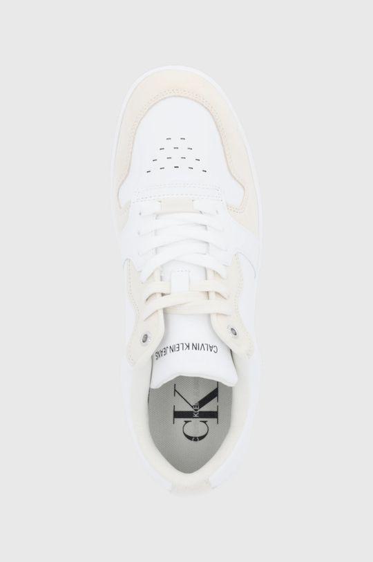 biały Calvin Klein Jeans - Buty skórzane
