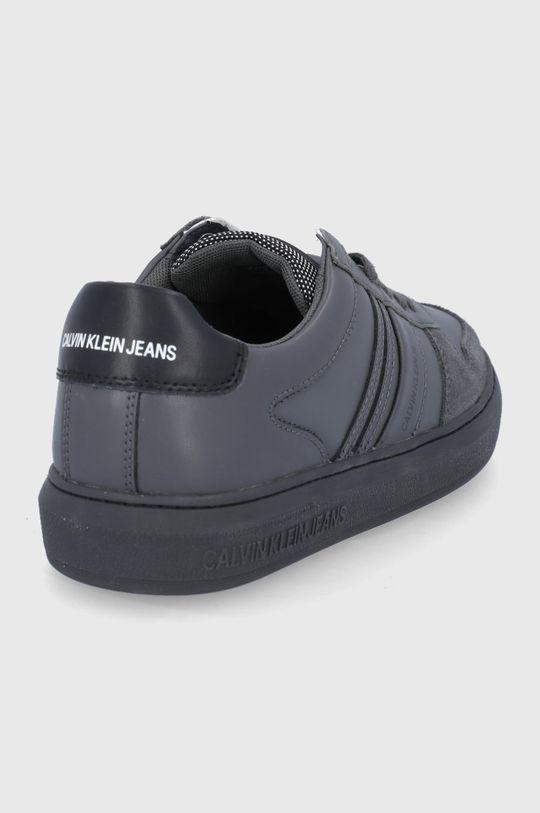 Calvin Klein Jeans - Buty skórzane Cholewka: Skóra naturalna, Wnętrze: Materiał tekstylny, Podeszwa: Materiał syntetyczny