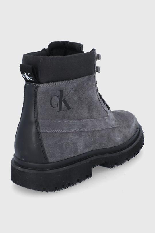 Calvin Klein Jeans - Trapery zamszowe Cholewka: Materiał tekstylny, skóra powlekana, Wnętrze: Materiał tekstylny, Podeszwa: Materiał syntetyczny