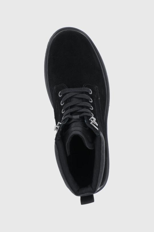 czarny Calvin Klein Jeans - Trapery zamszowe