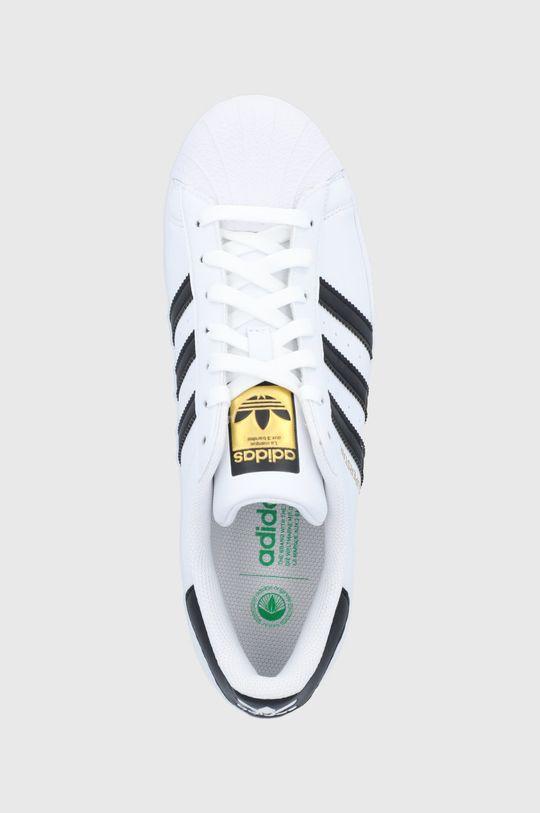 alb adidas Originals - Pantofi Superstar Vegan