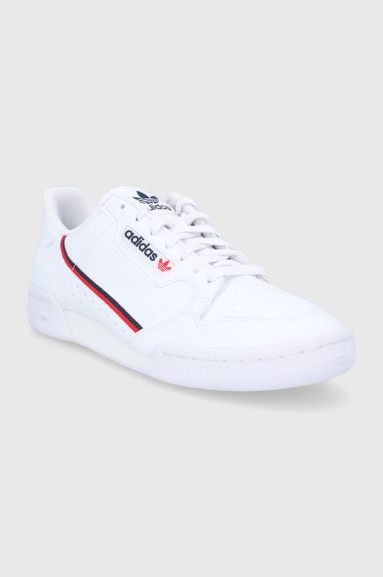 adidas Originals - Pantofi Continental 80 alb