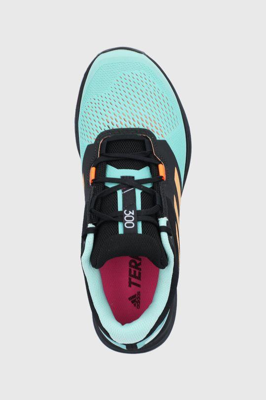 svetlá tyrkysová adidas Performance - Topánky Terrex Two Flow