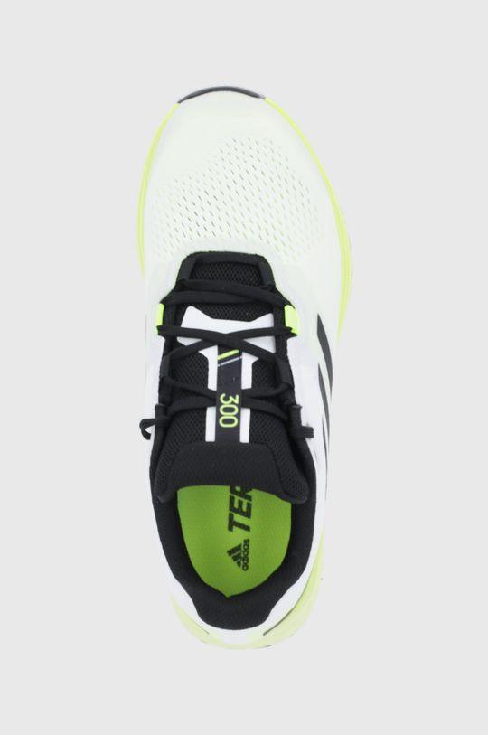jasny żółty adidas Performance - Buty Terrex Two Flow