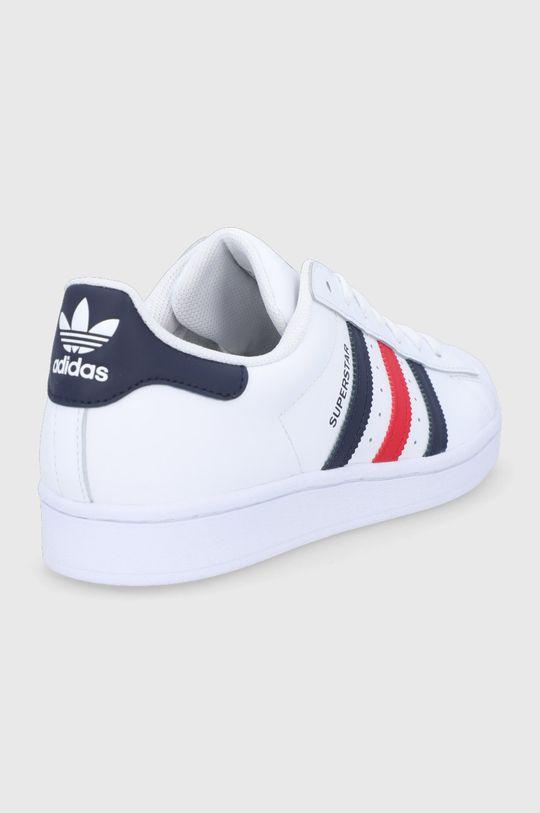 adidas Originals - Buty skórzane Superstar Cholewka: Skóra naturalna, Wnętrze: Materiał tekstylny, Podeszwa: Materiał syntetyczny