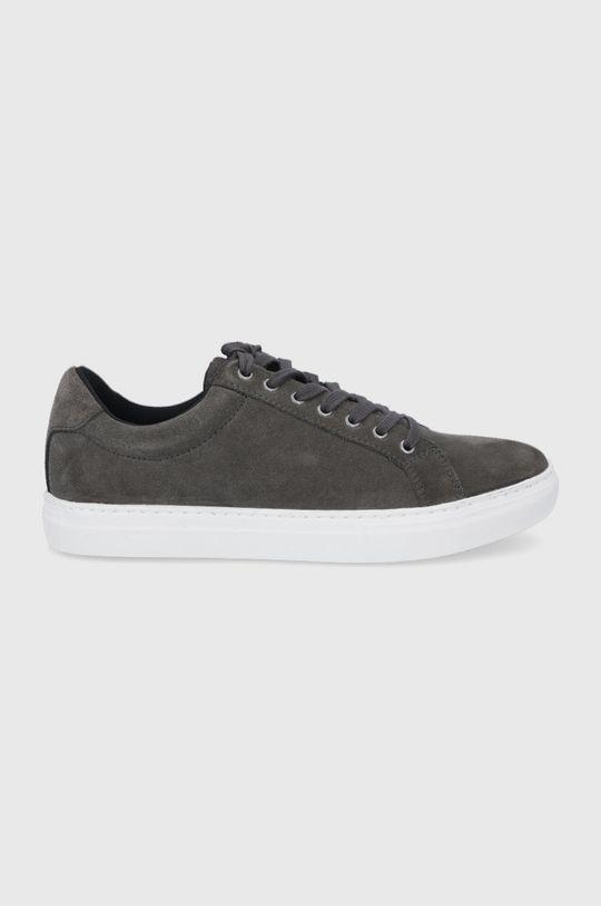 sivá Vagabond - Semišové topánky Paul Pánsky