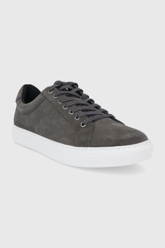 Vagabond - Semišové topánky Paul sivá