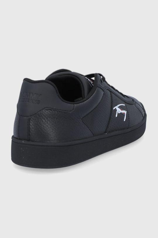 Tommy Jeans - Buty skórzane Cholewka: Materiał syntetyczny, Skóra naturalna, Wnętrze: Materiał tekstylny, Podeszwa: Materiał syntetyczny