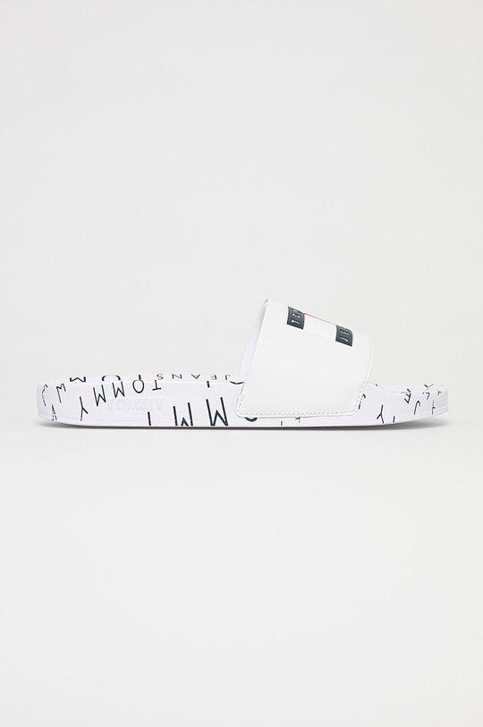 biela Tommy Jeans - Šľapky Pánsky