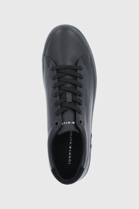 černá Tommy Hilfiger - Kožené boty