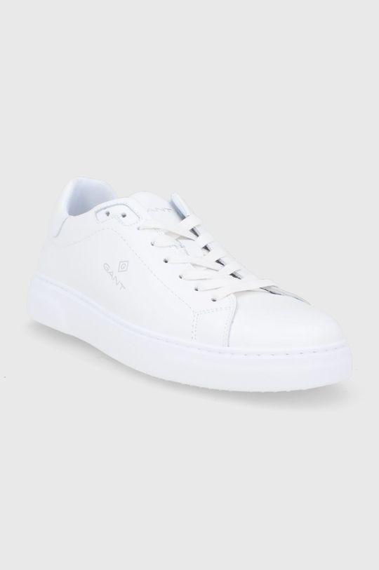 Gant - Buty skórzane Joree biały