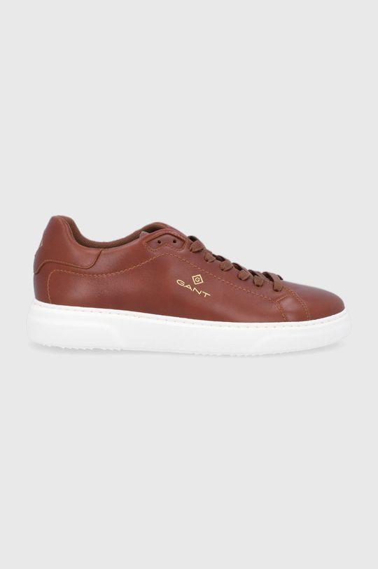 zlatohnědá Gant - Kožené boty Joree Pánský