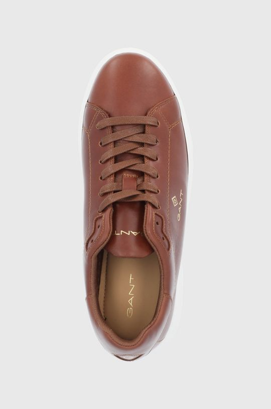 zlatohnědá Gant - Kožené boty Joree