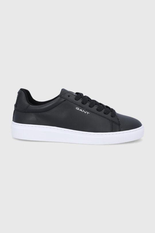 černá Gant - Kožené boty Mc Julien Pánský