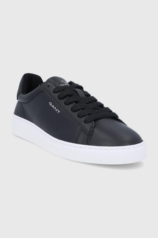 Gant - Kožené boty Mc Julien černá