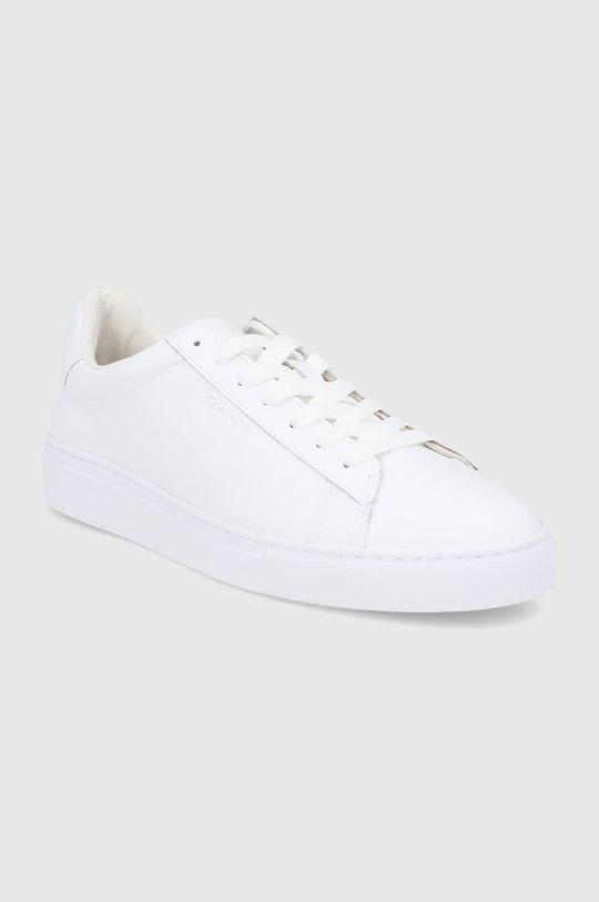 Gant - Kožené boty Julien bílá