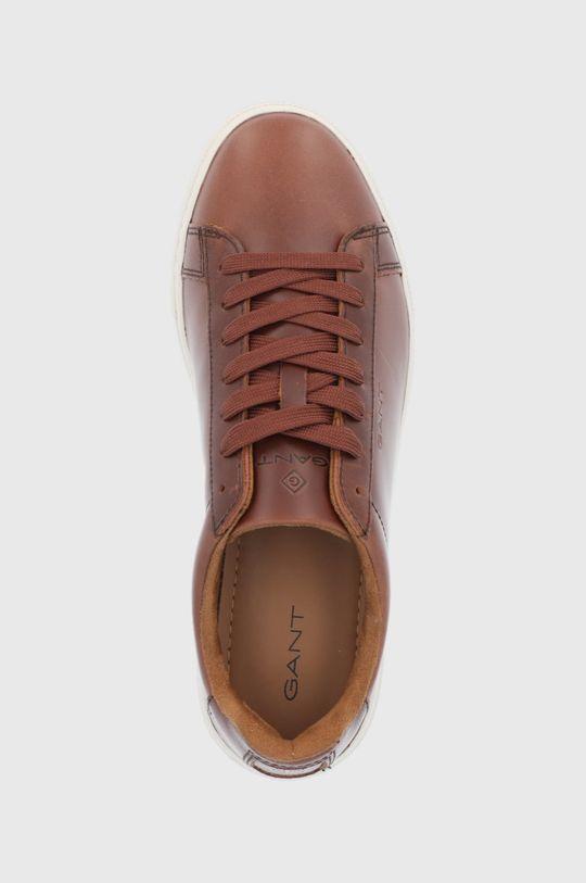 zlatohnědá Gant - Kožené boty Julien