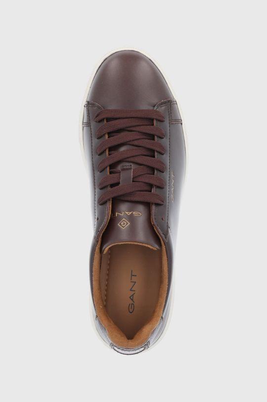 tmavě hnědá Gant - Kožené boty Mc Julien