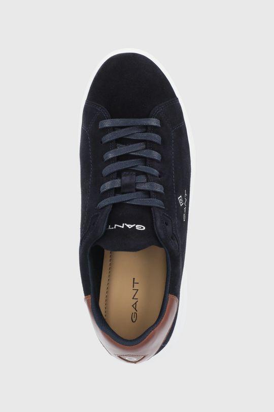 námořnická modř Gant - Kožené boty Joree