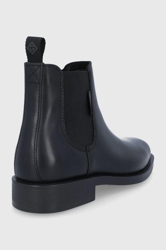 Gant - Kožené kotníkové boty Brockwill  Svršek: Přírodní kůže Vnitřek: Textilní materiál, Přírodní kůže Podrážka: Umělá hmota