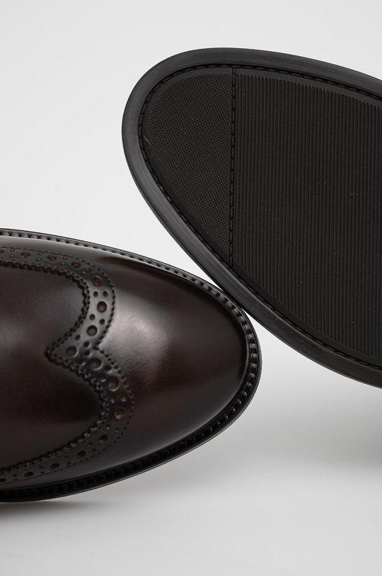 ciemny brązowy Gant - Buty skórzane Flairville