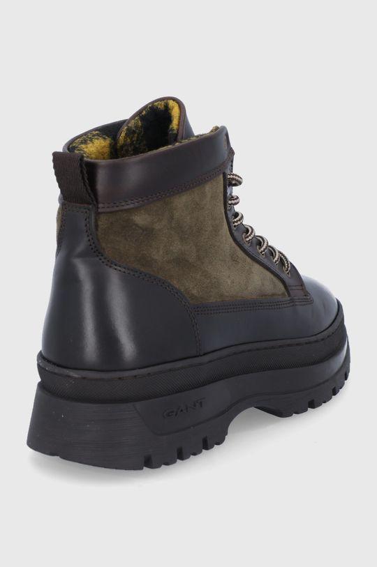 Gant - Kožená obuv St Grip  Zvršok: Prírodná koža Vnútro: Textil Podrážka: Syntetická látka