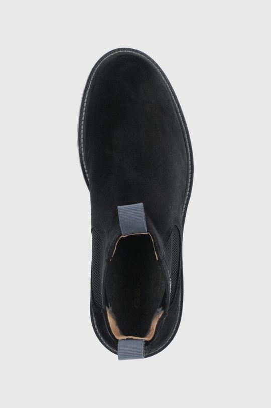 czarny Gant - Sztyblety zamszowe Roden