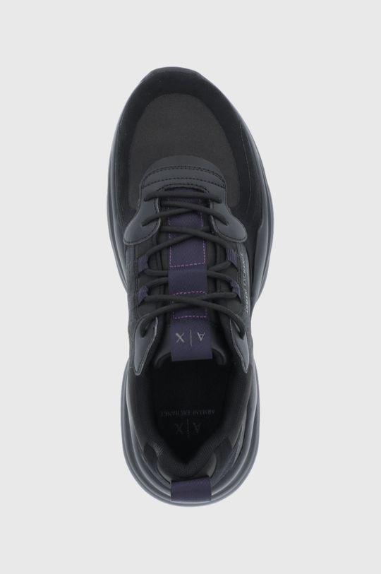 μαύρο Armani Exchange - Υποδήματα