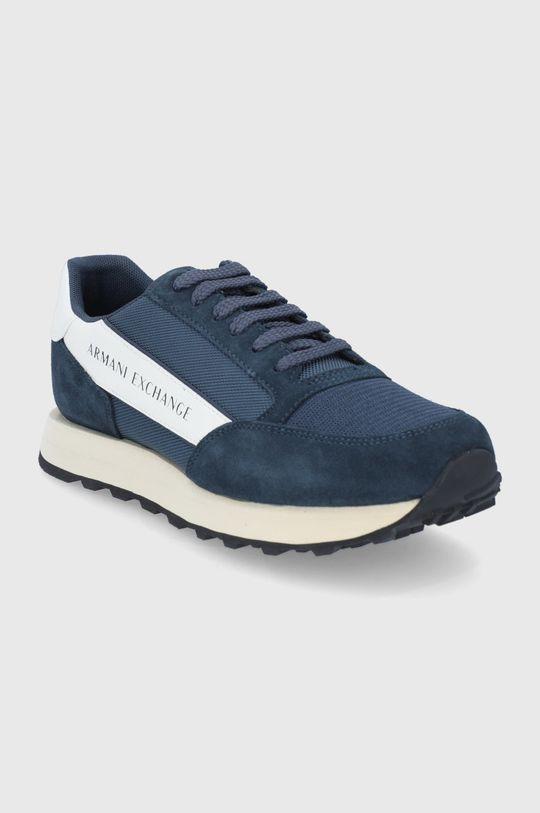 Armani Exchange - Υποδήματα σκούρο μπλε