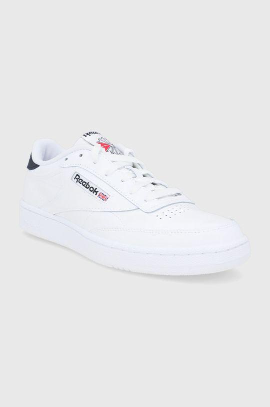 Reebok Classic - Buty skórzane Club C 85 biały