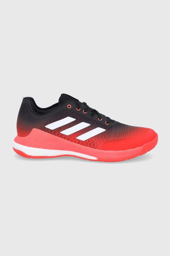 červená adidas Performance - Boty CrazyFlight Pánský