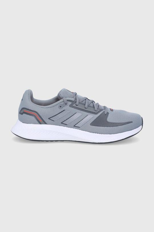 szary Adidas - Buty Runfalcon 2.0 Męski