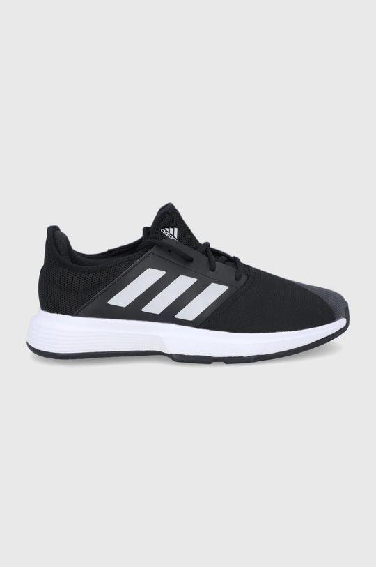čierna adidas Performance - Topánky GameCourt M Pánsky