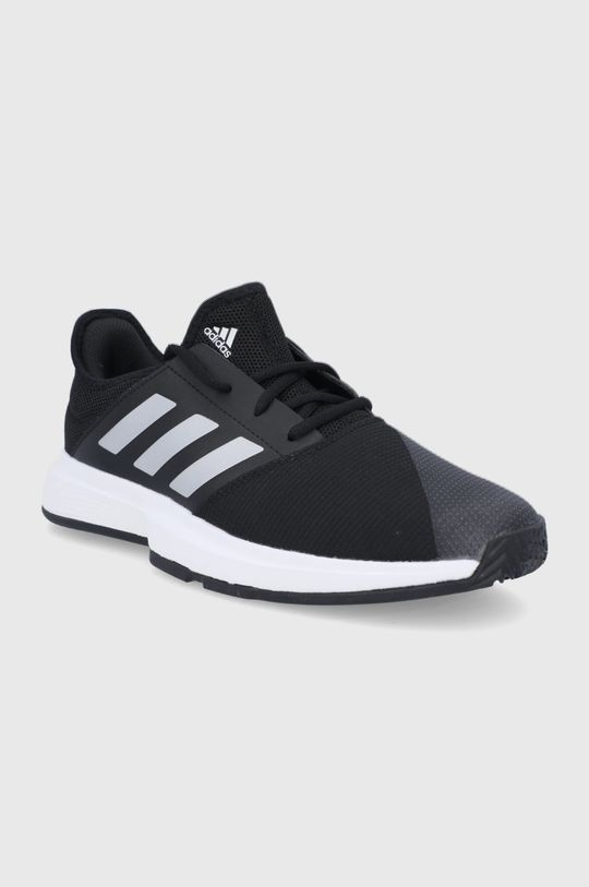 adidas Performance - Topánky GameCourt M čierna