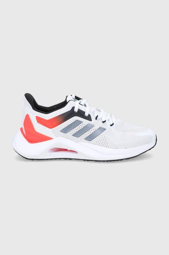 biały adidas Performance - Buty Alphatorsion 2.0 Męski