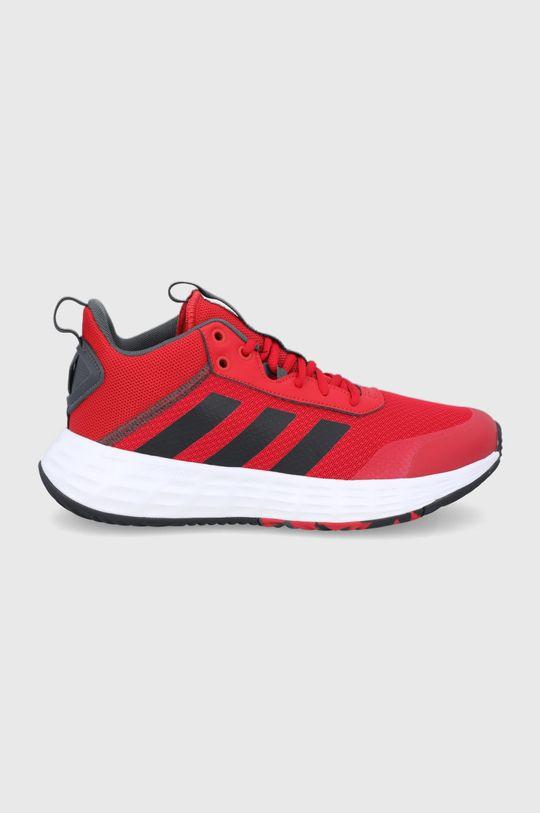 czerwony adidas - Buty Ownthegame 2.0 Męski
