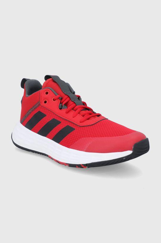 adidas - Buty Ownthegame 2.0 czerwony