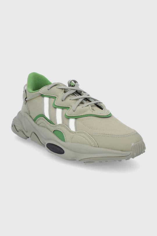 adidas Originals - Buty Ozweego brązowa zieleń