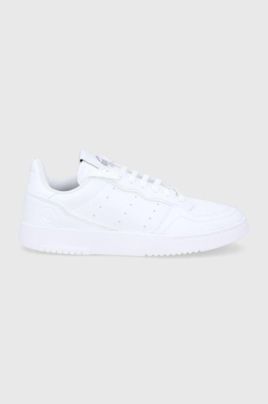 biały adidas Originals - Buty Supercourt Vegan Męski