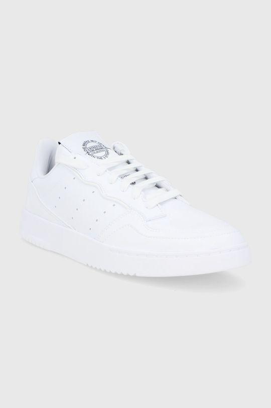 adidas Originals - Buty Supercourt Vegan biały