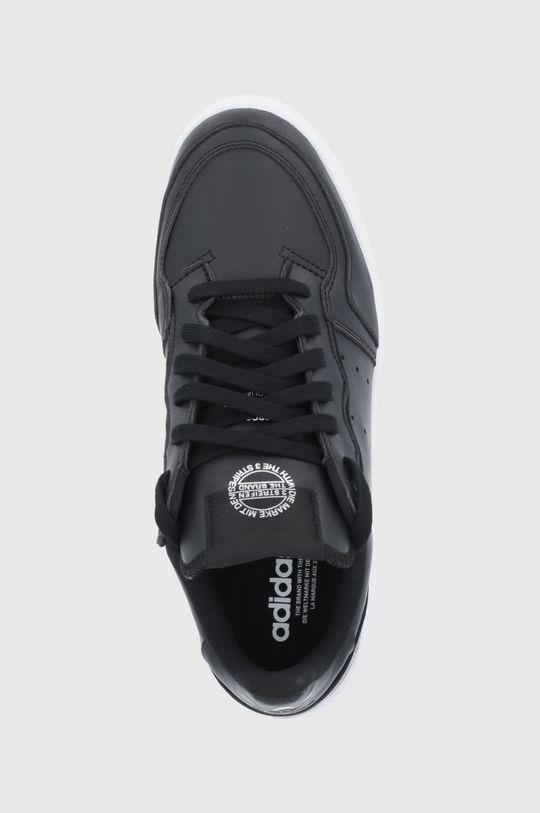 černá adidas Originals - Boty Supercourt Vegan