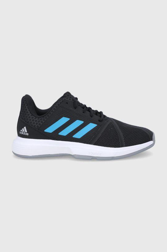 czarny adidas Performance - Buty CourtJam Bounce M Męski