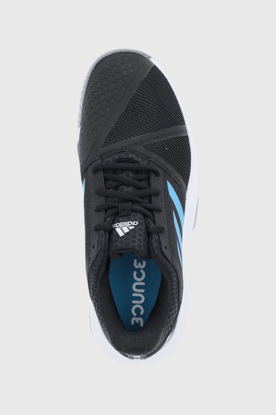 czarny adidas Performance - Buty CourtJam Bounce M