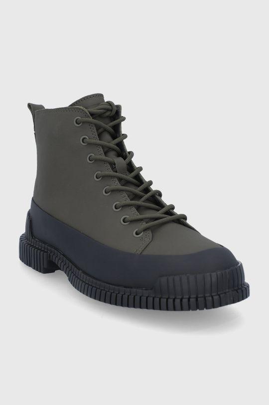 Camper - Δερμάτινα παπούτσια Pix πράσινο